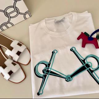 エルメス(Hermes)の完売 エルメス メンズ Tシャツ プラス モール プリント シャツ 新品 XL(Tシャツ(半袖/袖なし))