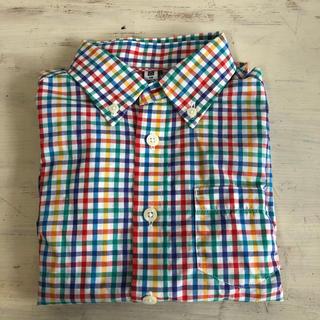 UNIQLO - UNIQLO チェックシャツ