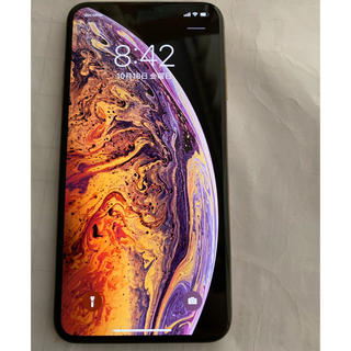 Apple - 美品 iPhonexs max 64gb simフリー ゴールド 判定○