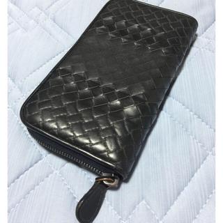 Bottega Veneta - ブラック 長財布