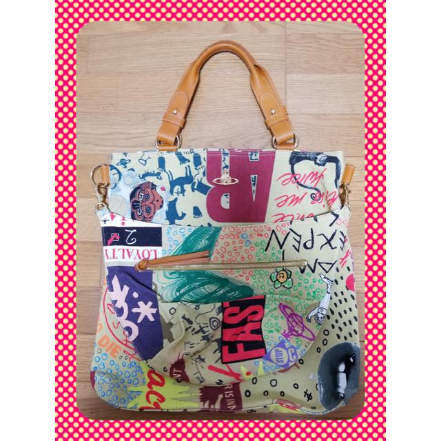 Vivienne Westwood(ヴィヴィアンウエストウッド)の❤️新品未使用❤️Vivienne Westwoodレデースバッグ レディースのバッグ(トートバッグ)の商品写真