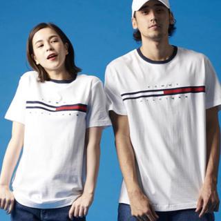 トミーヒルフィガー(TOMMY HILFIGER)のトミーの半袖Tシャツ Lサイズ(Tシャツ(半袖/袖なし))