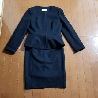 M-premier - エムプルミエ ブラックペプラムスーツ