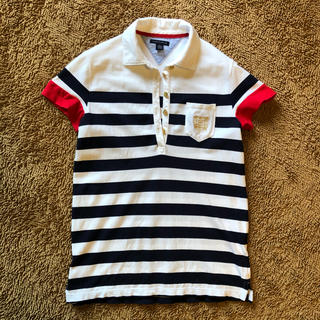 トミーヒルフィガー(TOMMY HILFIGER)のトミーフィルフィガー ポロシャツ 半袖(ポロシャツ)