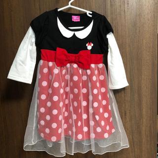 Disney - ミニー風 ワンピース 100 女の子