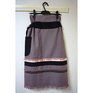 バーニーズニューヨーク(BARNEYS NEW YORK)のAKANE UTSUNOMIYA ラップスカート(ひざ丈スカート)