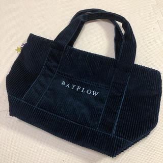 BAYFLOW - ベイフロー コーデュロイトート