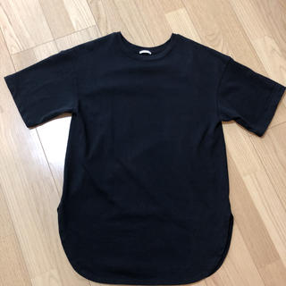 GU - GU  ヘビーウェイトオーバーサイズT(五分袖)