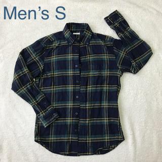 GU - GU フランネルチェックシャツ メンズS レディース