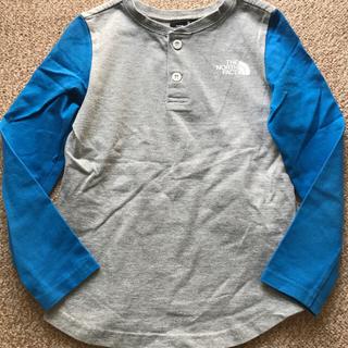 ザノースフェイス(THE NORTH FACE)のノースフェイス ロングTシャツ キッズ 120サイズ(Tシャツ/カットソー)