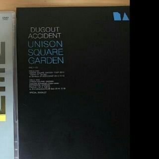 ユニゾンスクエアガーデン(UNISON SQUARE GARDEN)のunison square garden Dugout accident 限定版(ミュージック)