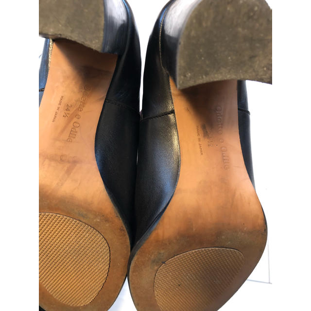 Odette e Odile(オデットエオディール)のoddette e odile 本革サイドゴアショートブーツ 24.5 レディースの靴/シューズ(ブーツ)の商品写真