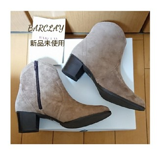 BARCLAY - 新品未使用*スペシャル価格★バークレー★スエードショートブーツ