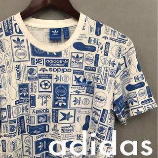 adidas - アディダス オリジナルス adidasTシャツ 半袖 ホワイト トレフォイル