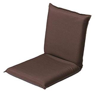 コーナン コンパクト座椅子(ブラウン)