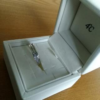 4℃ - 4℃エターナルシルバーダイヤモンドリング