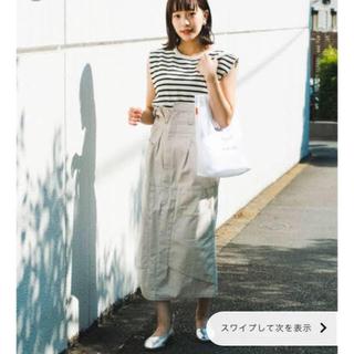 カスタネ(Kastane)のkastaneリメイク風スカート(ロングスカート)
