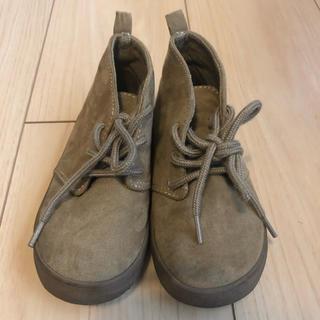 ベビーギャップ(babyGAP)の美品 babygap スエード ブーツ 14cm(ブーツ)
