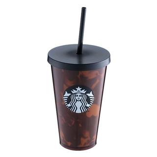 Starbucks Coffee - 台湾スタバ■べっ甲16oz■コールドカップ■タンブラー■ウォーターボトル