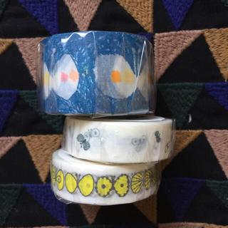 ミナペルホネン(mina perhonen)のミナペルホネン  マスキングテープ 3個(テープ/マスキングテープ)