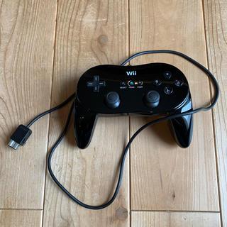 ウィー(Wii)のWii 純正コントローラー ブラック(その他)