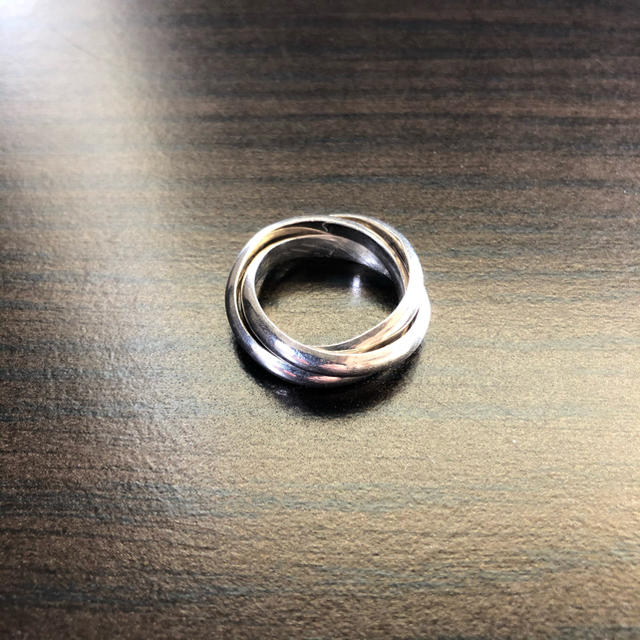 silver925 3連リング メンズのアクセサリー(リング(指輪))の商品写真