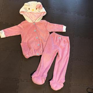 サンリオ - ハローキティ 着ぐるみ パジャマ 100cm