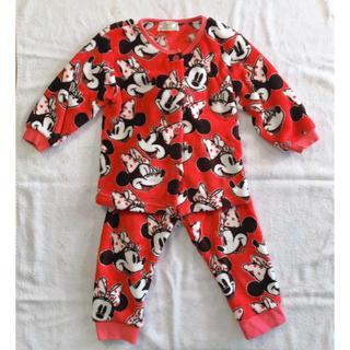 Disney - ミニーマウス 赤 パジャマ