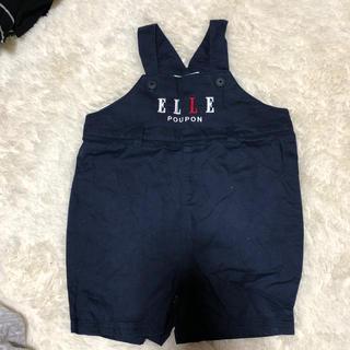 エル(ELLE)のオーバーオール2枚セットサイズ90(パンツ/スパッツ)