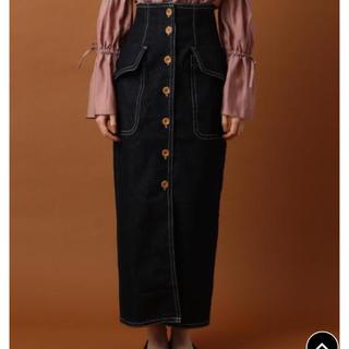 デイシー(deicy)のDEICY♡サファリデニムタイトスカート♡美品♡(ロングスカート)