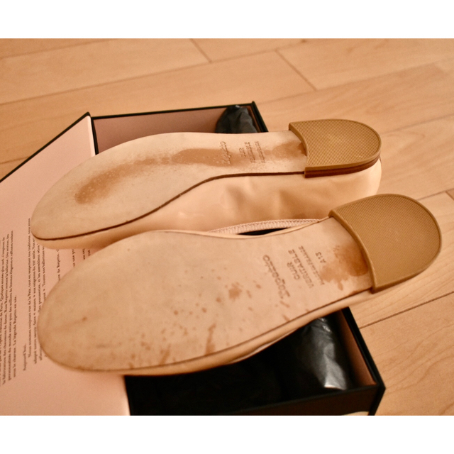 repetto(レペット)のレペット 37.5 バレエシューズ ピンクベージュ レディースの靴/シューズ(バレエシューズ)の商品写真