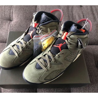 NIKE - Travis Scott × Nike Air Jordan 6 27.5cm