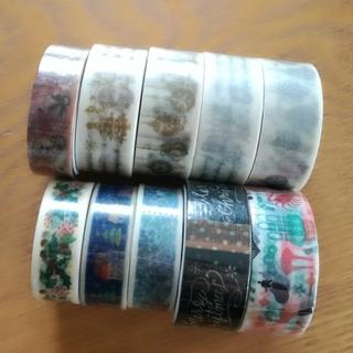 エムティー(mt)の新品未開封 クリスマス マスキングテープ 10本セット(テープ/マスキングテープ)