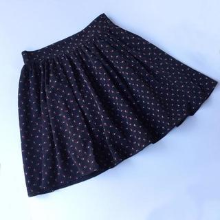 アニエスベー(agnes b.)のアニエス・ベー ボタニカル柄のミニスカート To★b. 34 XS(ミニスカート)