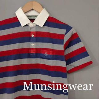 マンシングウェア(Munsingwear)の【美品 】マンシングウェア Munsingwear ゴルフ ポロシャツ 半袖(ウエア)