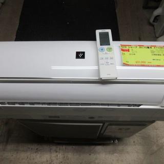 シャープ(SHARP)のK879 シャープ 中古エアコン 主に10畳用 冷2.8kw/暖3.6kw(エアコン)