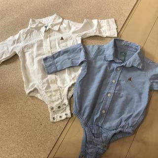 babyGAP - baby gap ロンパース  シャツ 双子