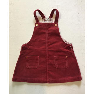 ザラキッズ(ZARA KIDS)のzara baby  kids ザラ ベビー 女の子 ジャンパースカート(ワンピース)