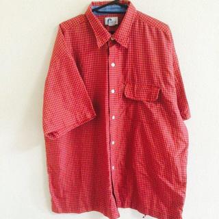 チェックシャツ(シャツ/ブラウス(半袖/袖なし))