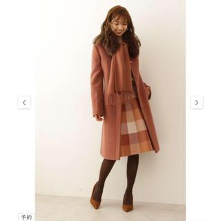 プロポーションボディドレッシング(PROPORTION BODY DRESSING)の4WAYファーストール付きノーカラーコート(ロングコート)