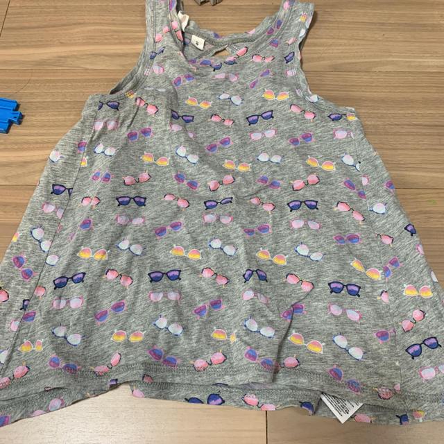 GAP(ギャップ)のトップス ノースリーブ 130cm キッズ/ベビー/マタニティのキッズ服 女の子用(90cm~)(Tシャツ/カットソー)の商品写真
