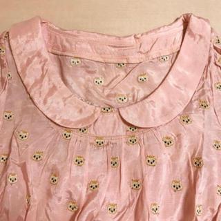 フランシュリッペ(franche lippee)のfranche lippee ねこ刺繍ブラウス(シャツ/ブラウス(長袖/七分))