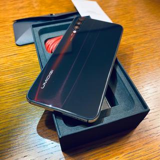 【SIMフリー】UMIDIGI X ブラック