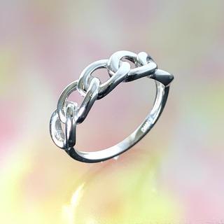 【本数限定!】K18WGチェーンモチーフリング(リング(指輪))