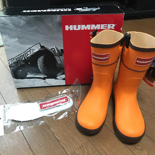 ハマー(HUMMER)の★新品未使用★HUMMER ハマー長靴(レインブーツ/長靴)