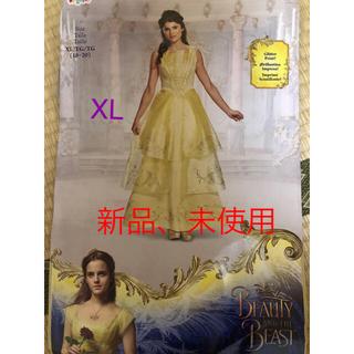 ディズニー(Disney)の【新品】美女と野獣♡ベルのドレス大きいサイズ(コスプレ)
