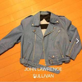 ジョンローレンスサリバン(JOHN LAWRENCE SULLIVAN)のサリバン デニムライダース(ライダースジャケット)