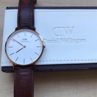 ダニエルウェリントン(Daniel Wellington)の【 ダニエル ウエリントン 】 メンズ 腕時計(腕時計(アナログ))