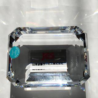 ティファニー(Tiffany & Co.)の新品 未使用 ティファニー クリスタル ペパーウエイト(置物)