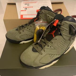 NIKE - AIR JORDAN 6 travis scott ジョーダン